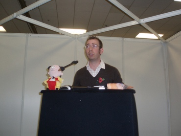 Chris Fuller at The Language Show 2008