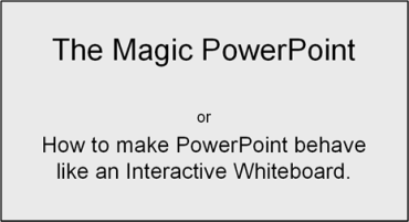 Enabling macros in PowerPoint 2007f