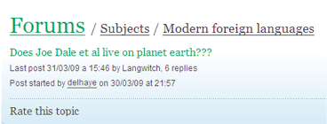Living on planet earth