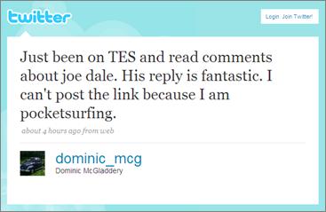 Trolling on the TES Staffroom MFL forum4