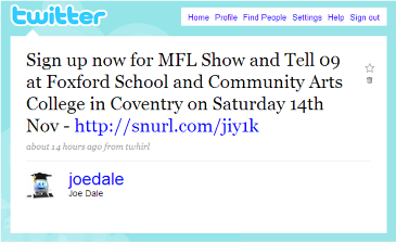 MFL Show and Tell 09