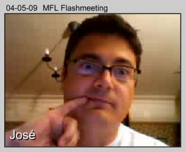 Dr Evil takes part in MFL Flashmeeting