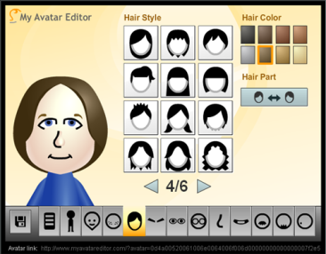 My Avatar Editor is a simple