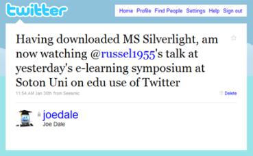 Russell Stannard's great talk on Twitter