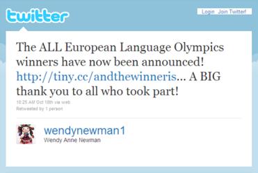 Wendy Newman's tweet