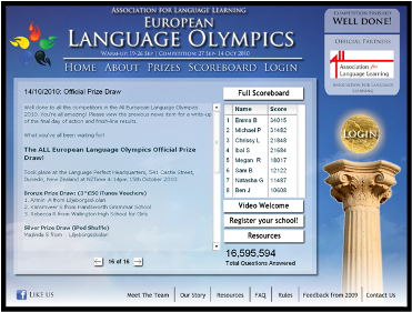European Language Olympics