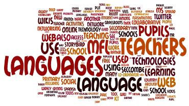 Wordle of Fast Forward TES article