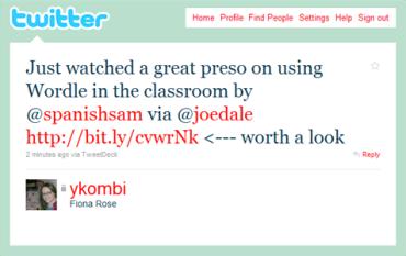 Ykombi tweet