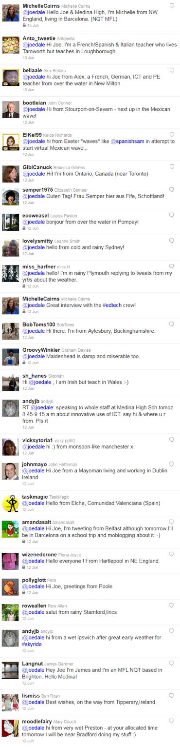 Medina ICT Day Tweetout1