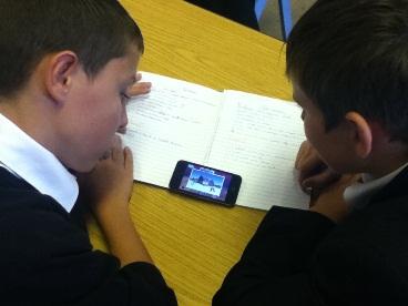 Using an iPod in class