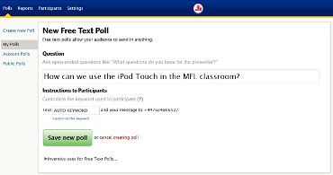 Medina MFL Training Poll Everywhere