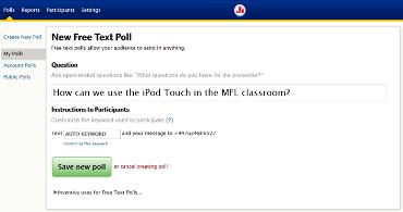 Medina MFL Training Poll Everywhere