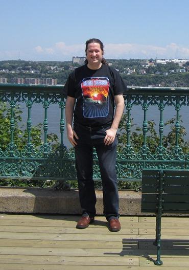 Joe Dale visits Quebec City