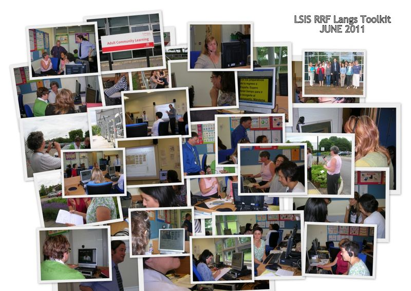 Collage from ACL MFL Toolkit training