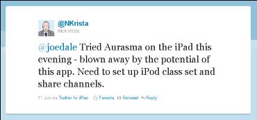 NKrista tweet