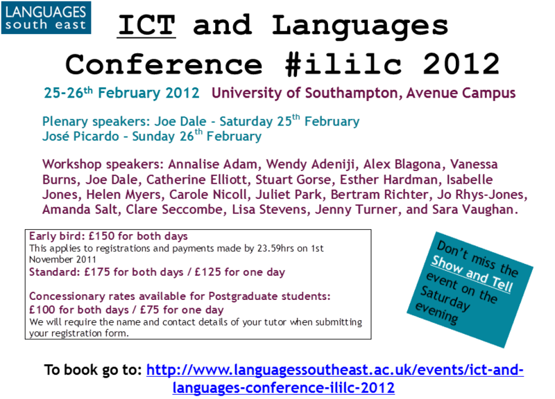 Ililc 2012 ppt flyer