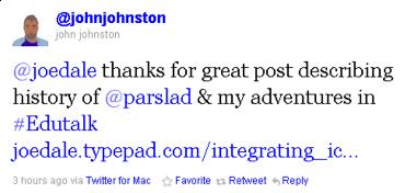 John Johnston tweet