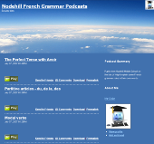 Nodehill French Grammar Podcasts