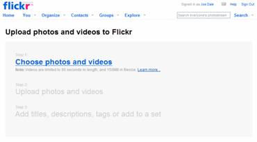 Video_on_flickr