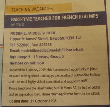 Part_time_teacher_of_french